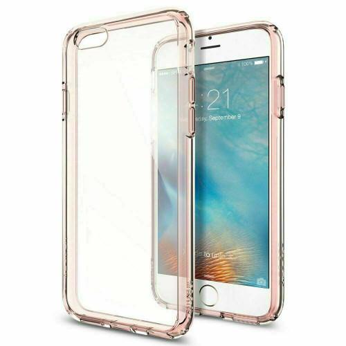 iPhone 6S, 6 Case Spigen Ultra Hybrid Protective Clear Slim Cover - Rose Crystal