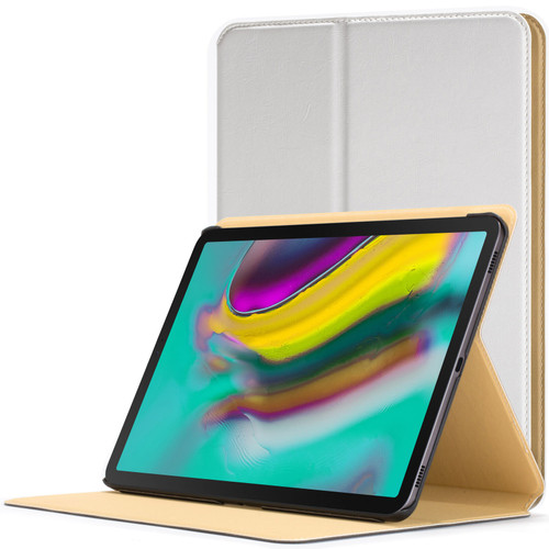 Samsung Galaxy Tab S5e 10.5 Smart Case  White Luxury Magnetic Protective Cover Stand