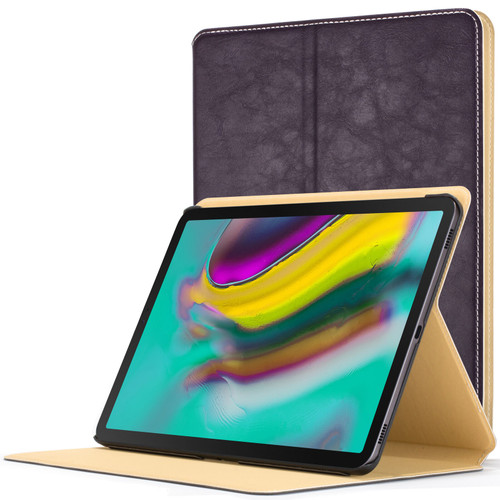 Samsung Galaxy Tab S5e 10.5 Smart Case  Purple Luxury Magnetic Protective Cover Stand