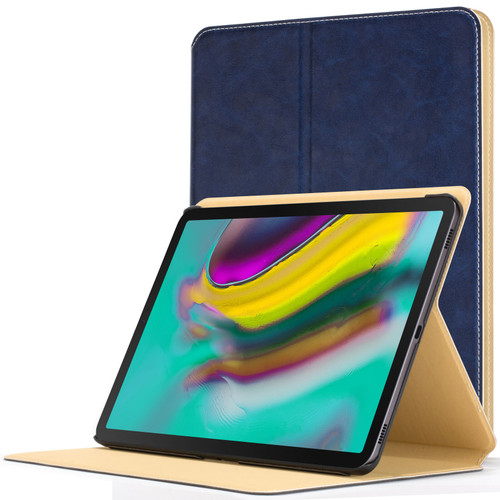 Samsung Galaxy Tab S5e 10.5 Smart Case Blue Luxury Magnetic Protective Cover Stand