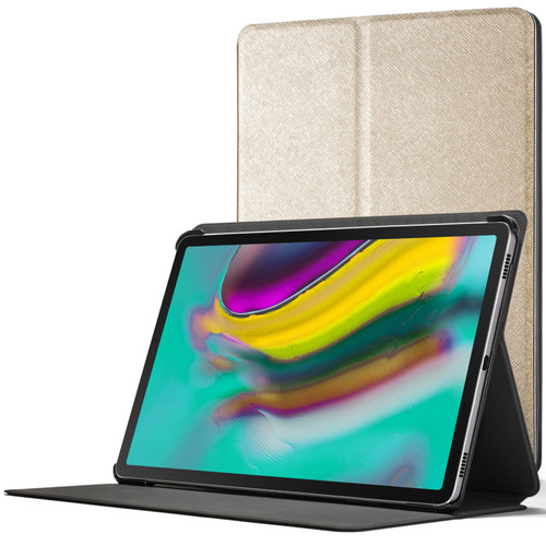Samsung Galaxy Tab S5e 10.5 Smart Case | Slim Magnetic Protective gold Cover Stand