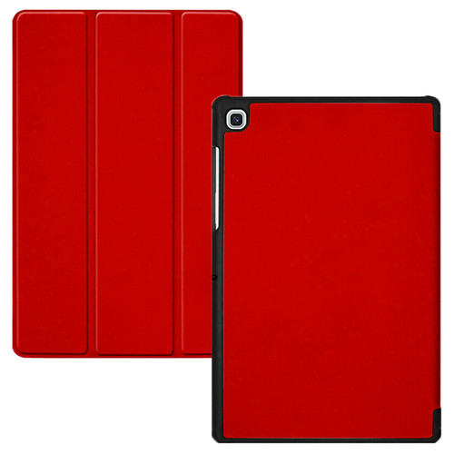 Samsung Galaxy Tab S5e T720 T725 Smart Leather Case Hard Shell  Maroon Smart Cover
