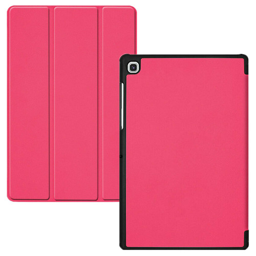 Samsung Galaxy Tab S5e T720 T725 Smart Leather Case Hard Shell  Pink Smart Cover