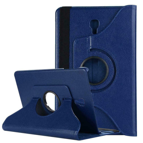 Samsung Galaxy Tab A 10.5 SM-T590 T595 Leather 360 Stand Cover  Navy Case