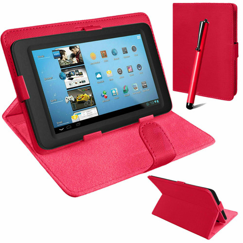 Pink Universal book flip case leather cover for Samsung Galaxy Tab PRO 10.1 T520 T525