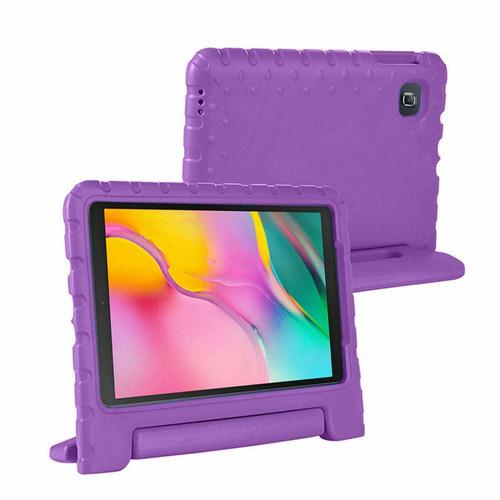 Purple Tough Kids Shockproof Eva Foam Stand Case Galaxy tab A 10.5 T590 T595