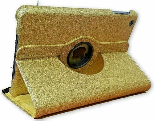 Gold luxury  360 Glitter Case for Apple ipad Mini 4