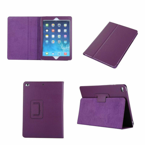 Smart Leather Tablet Stand Purple  case for Apple iPad Mini 4
