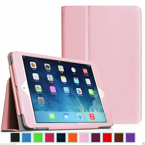 Smart Leather Tablet Stand Pink Case for Apple iPad Mini 4 Case