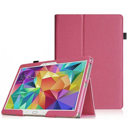 Pink Premium PU Leather Smart Case Samsung Galaxy Tab S 10.5 (T800/T801/T805)