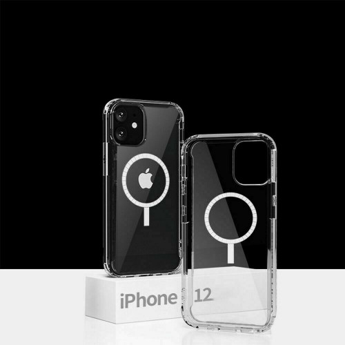 Clear Shockproof magsafe Cover Authentic TPU Apple iPhone  12 pro max