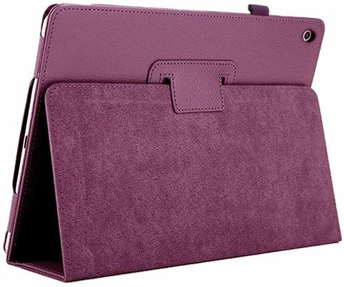 Apple iPad 10.2 (7th Generation) 2019 purple Magnetic PU Leather Stand Case