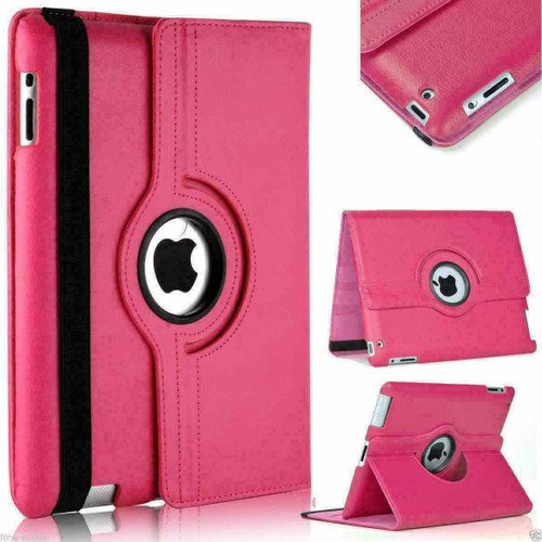 Pink 360 rotate stand Smart Case For Apple iPad Air 10.9 2020 4th Generation