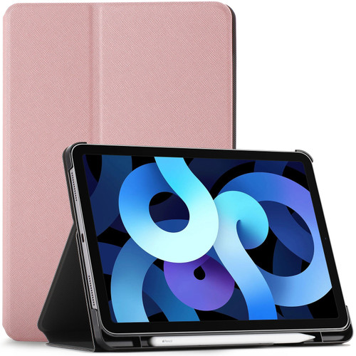 Rose gold iPad Air 4 Case Protective Cover Stand, Apple iPad Air 2020 10.9 Cover