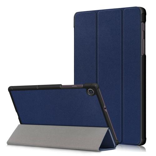 Navy leather flip case for Samsung Galaxy Tab A 8.4 2020 SM-T307