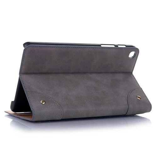 Grey leather shockproof stand tablet case for Samsung Galaxy Tab A 8.4 2020 SM-T307