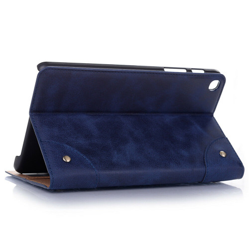Navy  leather shockproof stand tablet case for Samsung Galaxy Tab A 8.4 2020 SM-T307