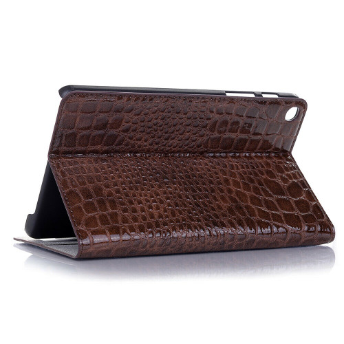 Chocolate  leather shockproof stand tablet case for Samsung Galaxy Tab A 8.4 2020 SM-T307