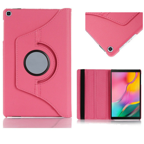 Rose gold 360 Rotating Case For Samsung Galaxy Tab A 8.4 2020 SM-T307 PU Leather Cover