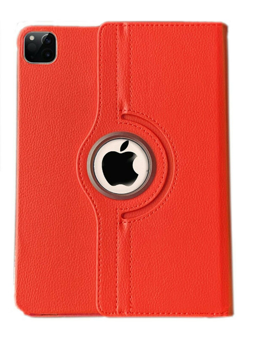 Red  360 rotate smart case Apple iPad Pro 11 (2020)