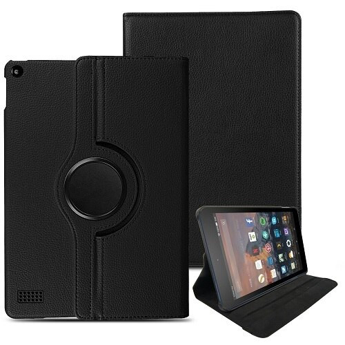 Amazon kindle Fire HD 8  2017 Magnetic Smart Leather Case