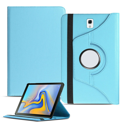 Baby Blue PU Leather 360 Rotating Case for Samsung Galaxy Tab 4 7.0 (T230/T231/T235)