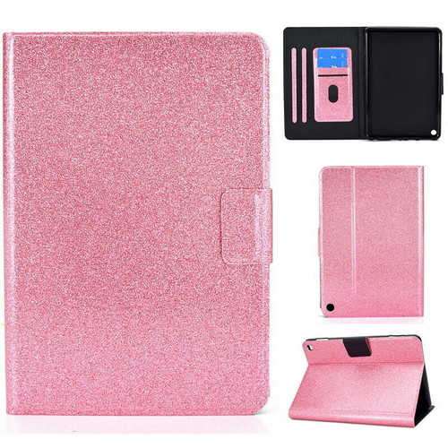 Pink  glitter protective Amazon Kindle Fire HD 8 8Plus Tablet (2020)