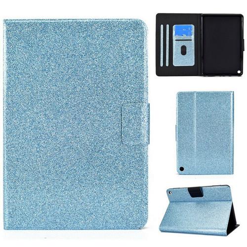 Blue glitter protective Amazon Kindle Fire HD 8 8Plus Tablet (2020)