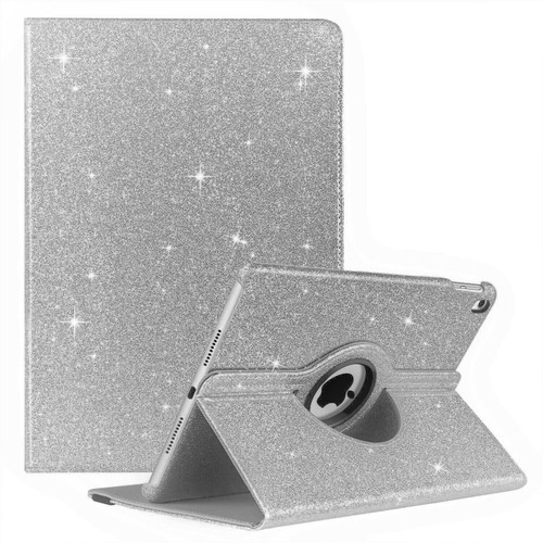 Silver luxury  360 Glitter Case for Apple ipad Mini 123