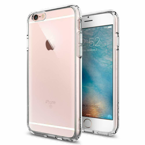 iPhone 6S, 6 Case Spigen Ultra Hybrid Protective Clear Slim Cover - clear