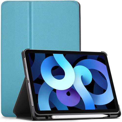 iPad Air 4 Case Cover Stand Apple iPad Air 2020 10.9 Sky Blue + Stylus