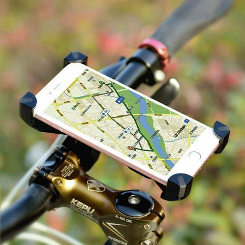 360 Mobile Phone Holder Bracket Mount Handlebar Scooter For Bike Motorcycle