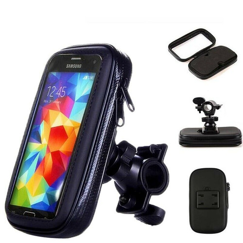 360 Bicycle Motor Bike Waterproof Phone Case Mount Holder For All Mobile Phones