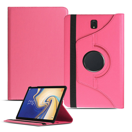 Baby Pink PU Leather 360 Rotating Case for Samsung Galaxy Tab 4 7.0 (T230/T231/T235)
