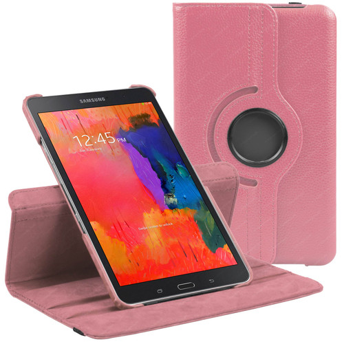 Baby Pink PU Leather 360 Rotating Case for Samsung Galaxy Tab PRO 8.4 (T320/T321/T325)