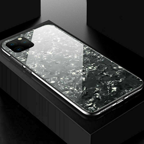 Glitter Marble Case For iphone 11 pro max Black