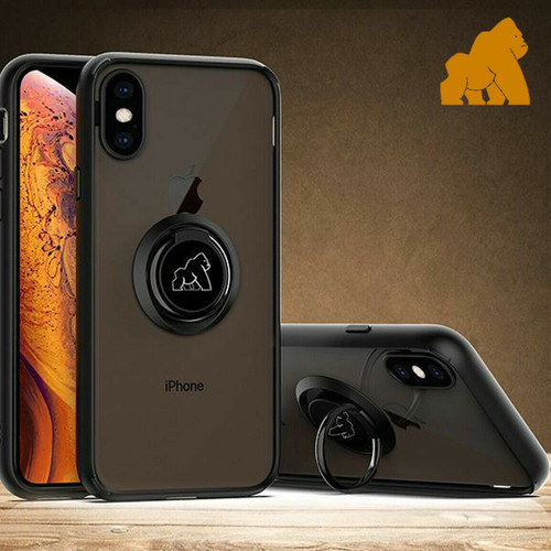 Gorilla Case with Finger Ring Stand For  iPhone 12 Case