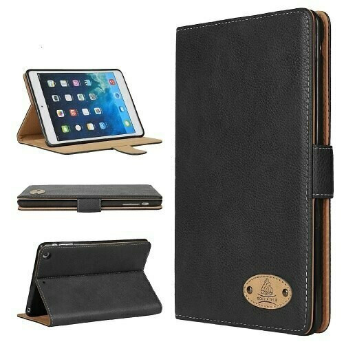 Genuine Gorilla Slim Leather Case for Apple iPad 10.2 2020 8th gen Smart Flip Cover Stand