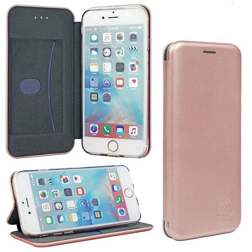 Rose gold 3D Wallet Flip Case Stand Protective Cover Apple iPhone  SE 2020