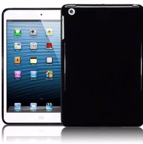 Black  Gel  Case For Samsung Tab AT580