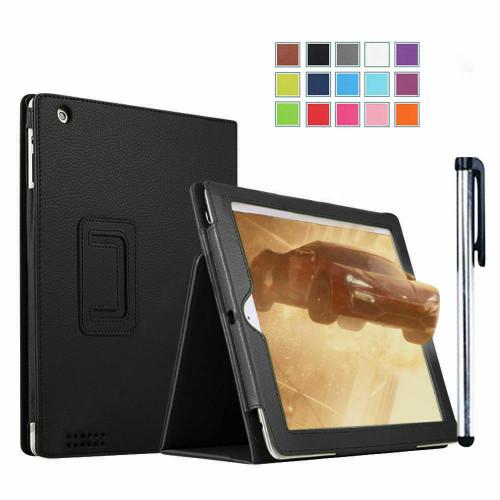 Black apple iPad 9.7(2018)(2017)  Luxury Magnetic Leather Stand Case