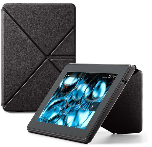 "Amazon Kindle Fire HD 7"" Magnetic Standing Folding Origami Leather Case 3rd Gen"
