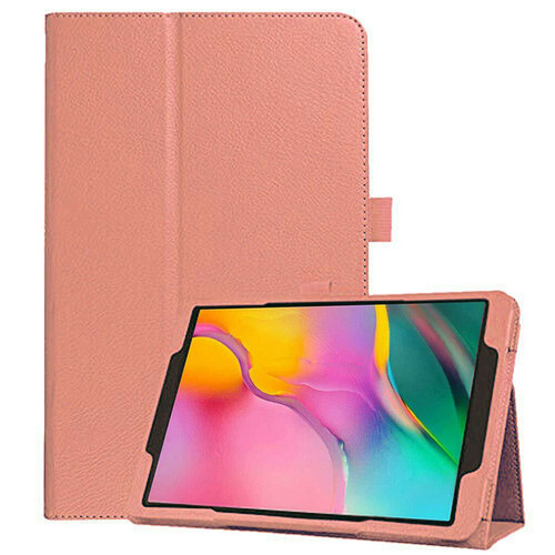 Samsung Galaxy Tab A 10.1 (2019) T510/T515 Leather Tablet Stand rose gold Case