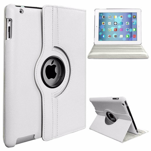 Apple iPad Pro 12.9 2018 3rd Generation White Luxury Magnetic Flip Smart Stand Leather Case
