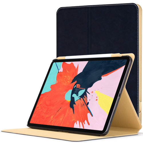 Apple iPad Pro 12.9 inch 2018 Case  navy Magnetic Protective Smart Case Cover Stand