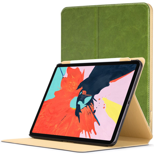 Apple iPad Pro 12.9 inch 2018 Case  green Magnetic Protective Smart Case Cover Stand