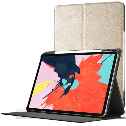 Apple iPad Pro 12.9 2018 Smart Case Cover Stand Gold
