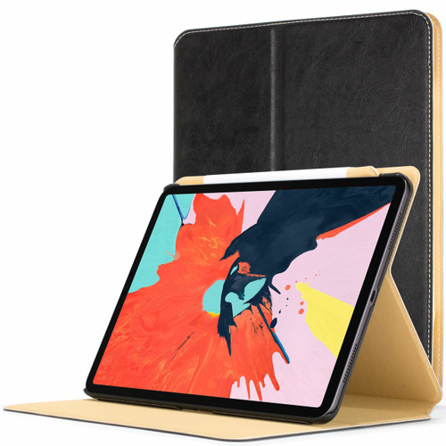 Apple iPad Pro 11 inch 2018 Case Black| Magnetic Protective Smart Case Cover Stand