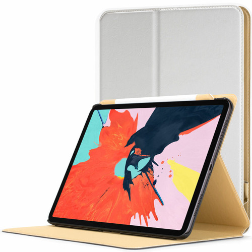 Apple iPad Pro 11 inch 2018 Case  white Magnetic Protective Smart Case Cover Stand