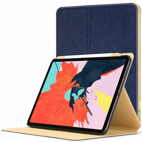 Apple iPad Pro 11 inch 2018 Case  royal blue Magnetic Protective Smart Case Cover Stand